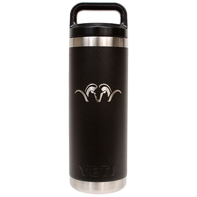 Blaser Yeti 18oz Rambler Bottle - Black