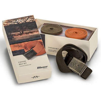 Blaser Canvas Belt Set (set/3)