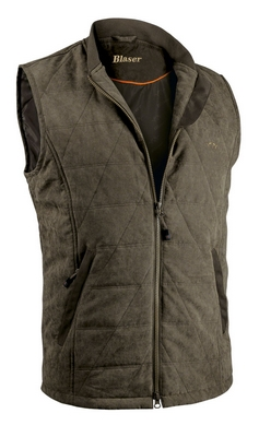 Argali Quilted Vest - Dark Brown