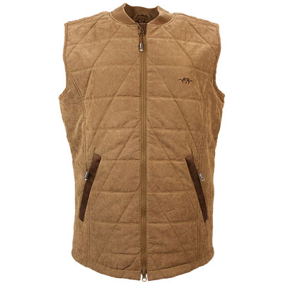 Argali Quilted Vest - Light Brown