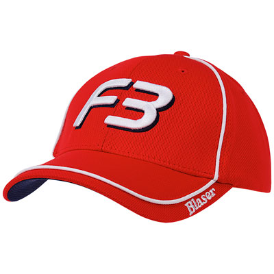 The Bill McGuire F3 Signature Hat - Red & White