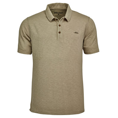Blaser Men's Polo Shirt - Beige