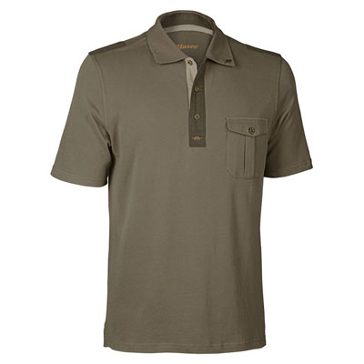 Blaser Men's Polo Shirt - Brown