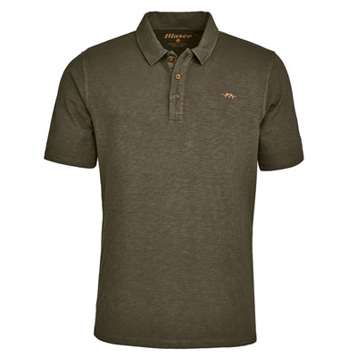 Blaser Men's Polo Shirt - Olive
