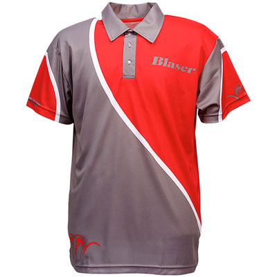 Blaser Argali Red & Grey Polo - Mens
